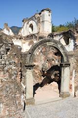 Ruins of the Recoleccion church at Antigua