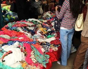 Kıyafet alışverişi
