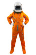 Astronaut isolated on a white background - 63416892