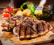 Delicious grilled marinated lamb chops
