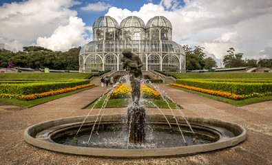 Curitiba's Botanic Garden in Parana, Brazil
