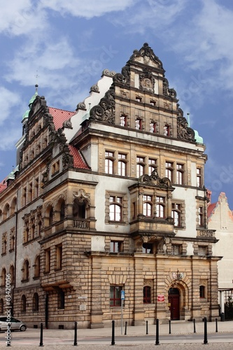 City hall in Legnica Poland