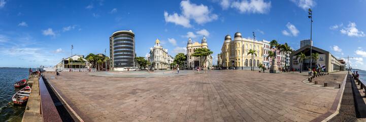 Marco Zero Square in Recife Antigo, Pernambuco, Brazil