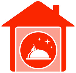 red home food symbol