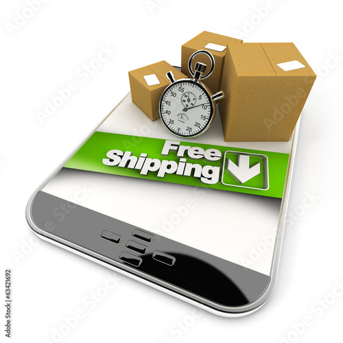 online purchase from tablet, free shipping