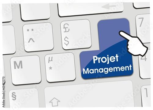 clavier projet management