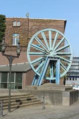 Seilscheibe der Schachtanlage Rheinpreussen Duisburg