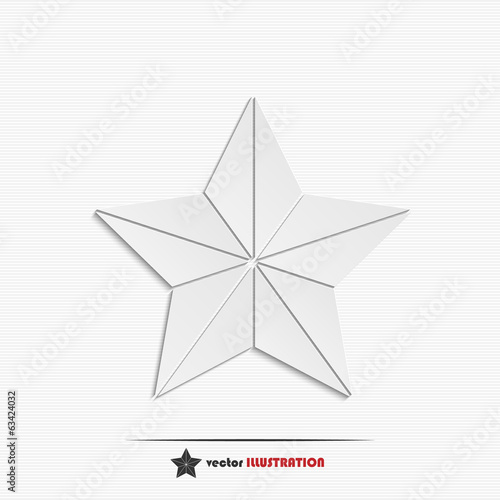 Abstract star web icon