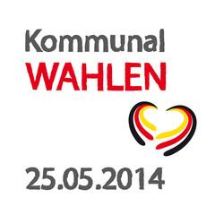 Kommunalwahlen am 25.05.2014