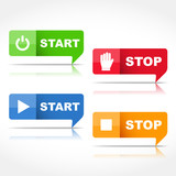 Start and Stop Buttons poster