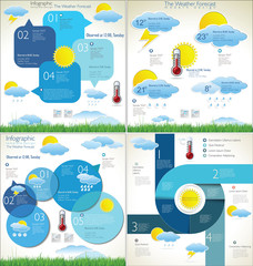 Weather Forecast  background collection