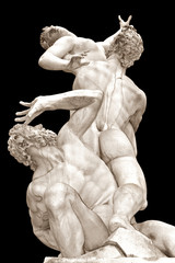 """The Rape of the Sabine Women"" , Florence""The Rape of the Sabine"