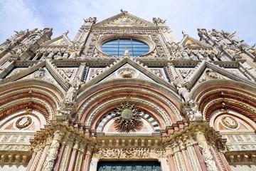 Duomo of Siena, Tuscany, Italy. Siena cathedral