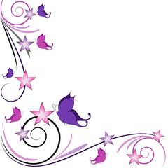 Sfondo farfalline decorazione