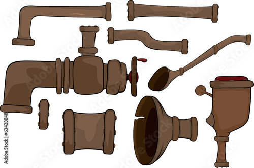 Pipes set