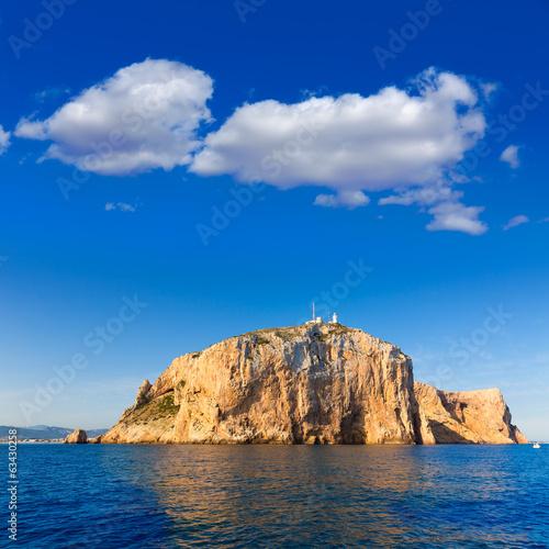 Cabo de San Antonio cape in Javea Denia at Spain Poster