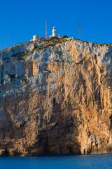 Cabo de San Antonio cape in Javea Denia at Spain