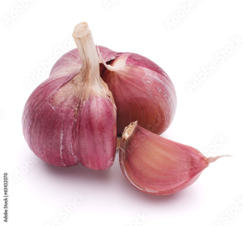 Garlic bulb isolated on white background cutout