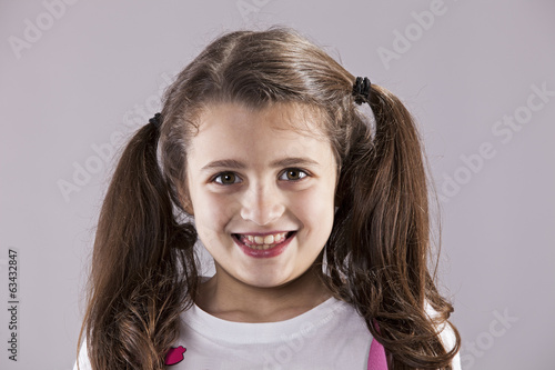 Little girl smile
