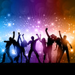 Party people background - 63433078