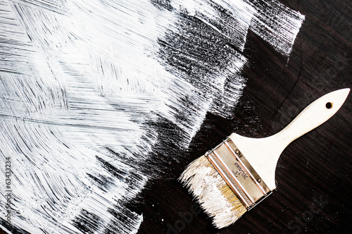 Painting wooden background