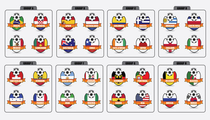 Badges of National Flags