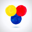 Grunde paint circles.
