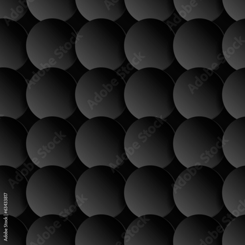 Abstract 3d seamless pattern.