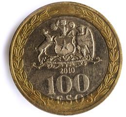 Peso chileno Chilean currency money チリ・ペソ