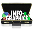Infographics Briefcase Sales Presentation Important Data Informa