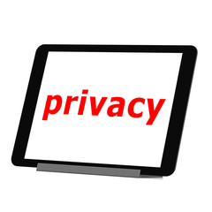 Tablet privacy