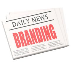 Newspaper branding
