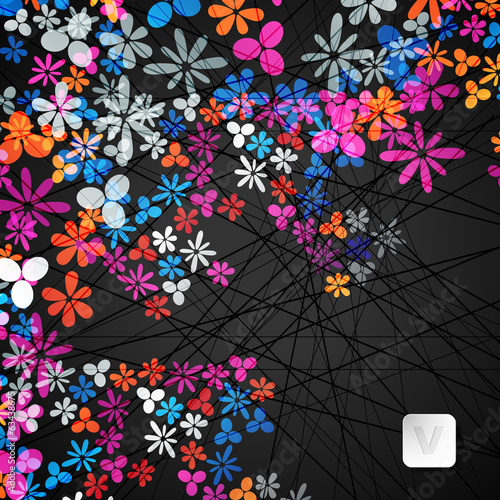 eps, abstract background