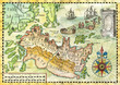 Map of the fantasy land 1