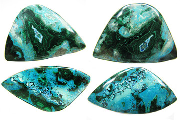 chrysocolla abstract texture geological mineral