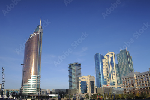 Astana. General view of downtown