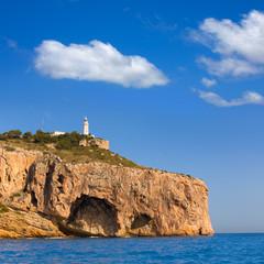 Javea Cabo la Nao Lighthouse Mediterranean Spain