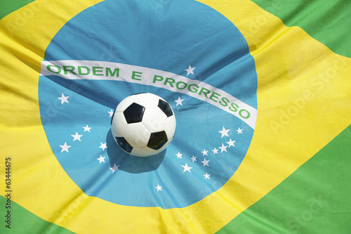Brazilian Flag Soccer Ball Football