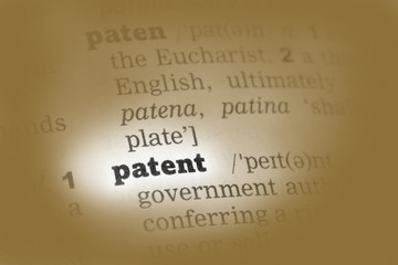 Patent Dictionary Definition