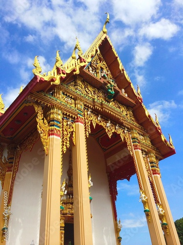 Domestic Thai Temple