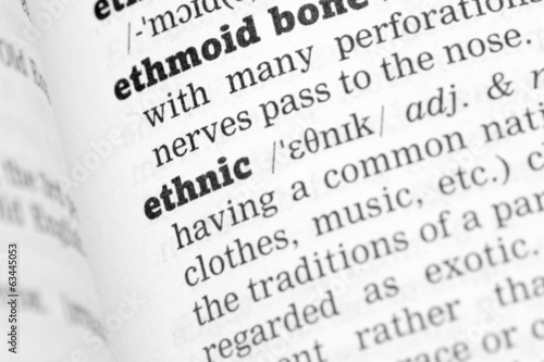 Ethnic Dictionary Definition