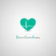 Electrocardiography vector icon