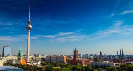 Berlin - city view panorama