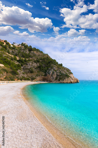 Javea La Granadella beach in Xabia Alicante Spain