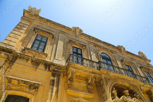 canvas print picture Historische Architektur in Mdina