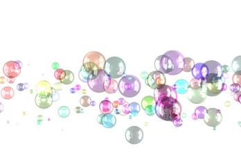 カラフルな球体 © sakura