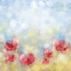 wiosenna łąka 2