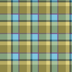 Plaid Pattern, Illustration