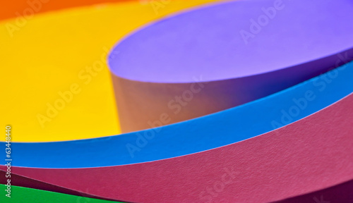 Colored paper background