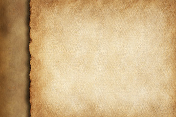 Handmade paper sheet background or texture
